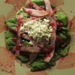 Συνταγή από Jenny για Πράσινη σαλάτα με blue cheese, ζαμπόν, καρύδι και σως από ...