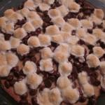 Συνταγή από Jenny για Πίτσα με φυστικοβούτυρο / Cookie pizza with peanutbutter and marshmallows