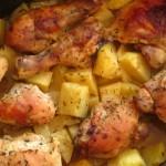 Συνταγή από Jenny για Λεμονάτο κοτόπουλο με πατάτες στη γάστρα / Lemon chicken a...