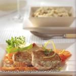 Σνίτσελ γαλοπούλας με άγριο ρύζι