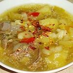 Συνταγή : Kρεατόσουπα με λαχανικά