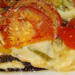 Συνταγή : Μελιτζάνες με καπνιστό τυρί
