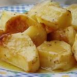 Πατάτες φούρνου λεμονάτες