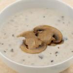 Σούπα με τραχανά και μανιτάρια