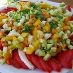 Σαλάτα καπρέζε κόντιτα (με λαχανικά)