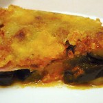 Μελιτζάνες με μπέικον, τυρί, ντομάτα