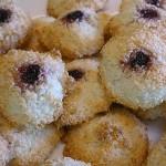 Μπισκότα ινδοκάρυδου