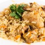 Ριζότο με κοτόπουλο