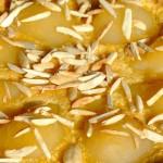 Τάρτα φραντζιπάν με αχλάδια