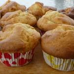 Εύκολη συνταγή για γλυκό: μάφινς με μήλα