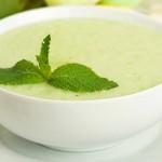 Καλοκαιρινή σούπα με αγγούρι