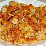 Συνταγή : Χταπόδι με κοφτό μακαρονάκι