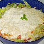 Σαλάτα  ανάμικτη με σος γιαουρτιού