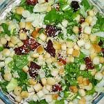 Συνταγή : Σαλάτα ρόκα με λιαστή ντομάτα
