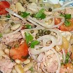 Σαλάτα φασόλια με τόνο