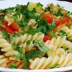 Συνταγή : Ζυμαρικά με λαχανικά