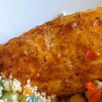 Ψητό κοτόπουλο με καπνιστή πάπρικα