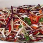 Σαλάτα λάχανο πολύχρωμη