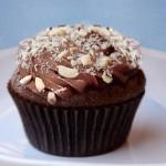 Σοκολατένια καπκέικς με φουντούκια