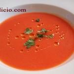 Κρύα ντοματόσουπα