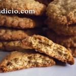 Μπισκότα με βρώμη και καρύδια