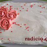 Τούρτα κέικ με ζελέ (poke cake)