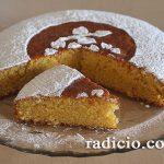 Κέικ αμυγδάλου με ελαιόλαδο