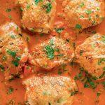 Κοτόπουλο κοκκινιστό κατσαρόλας
